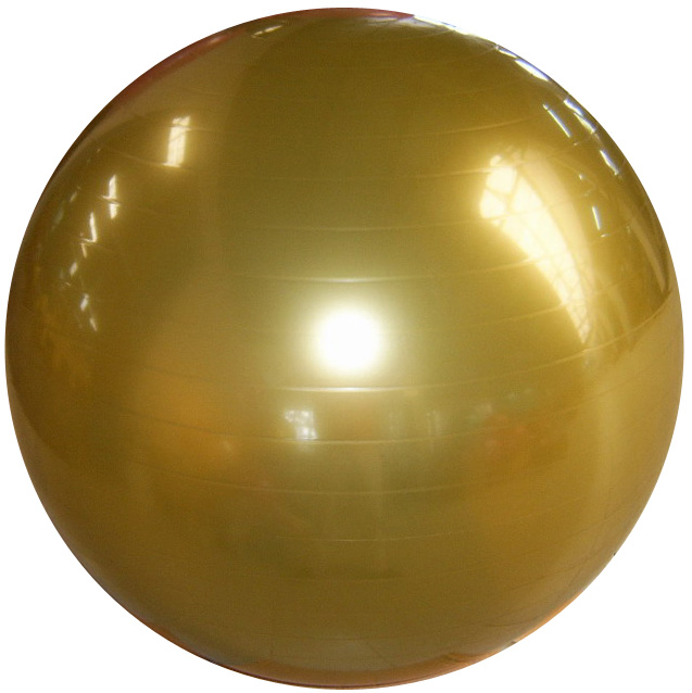 PVC Anti-burst Exercise Ball With Logo